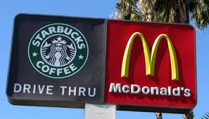 starbucks mcdonalds